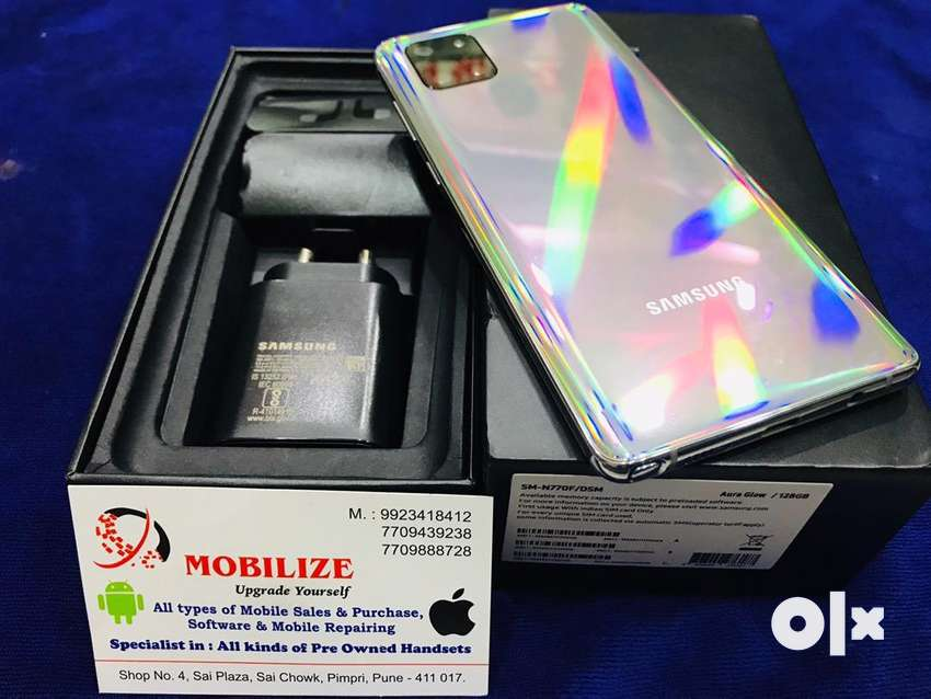 Samsung Note 10 Lite Aura Glow 8/128GB Only 4.5 Months Used. 0