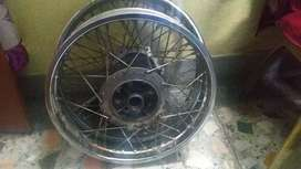 "Royal enfield stock rim, 19"" and 18"" inch"