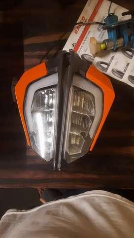 KTM duke 390 head light