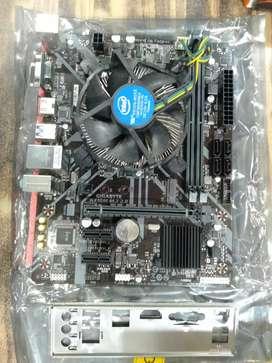 Gigabyte h310bord i3 9th gen 9100F cpu fan 2year warranty fix price