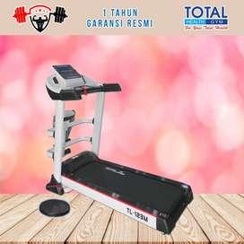 Alat fitness treadmill elektrik TL 123M treadmil TOTAL COD Sidoarjo