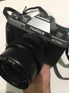 fujifilm. X-t100