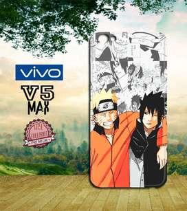 Dijual custom case 3D Vivo V5 MAX Anime Naruto Shippuden