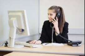 Female receptionist Wanted timing 2.00pm to 9pm.