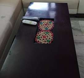 Latest design sofa with center table
