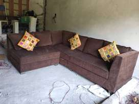 L Shaped Modern Sofa Set