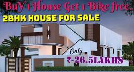 Deluxe independent houses Low Price@Jangaon