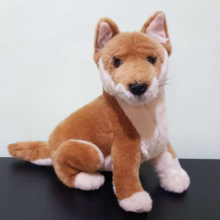 Dingo Dog Soft Plush Toy Byron Stuffed Animal Bocchetta Boneka Anjing