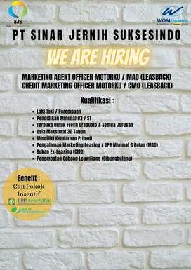 Marketing Agent Officer dan Credit Marketing Officer