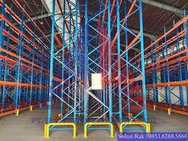 Rak Gudang SPR HDR 2000kg-3000kg per level Ready Stok