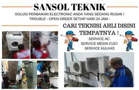 Service AC tidak dingin servis mesin cuci kulkas Kebomas Gresik