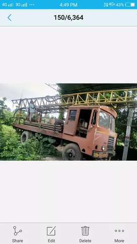 Water well driling truck upto 400ft