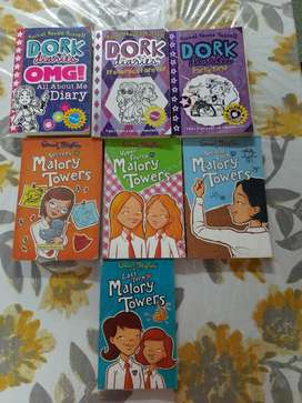 dork diaries and Mallory towers book