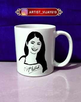 Art on Coffee Cup
