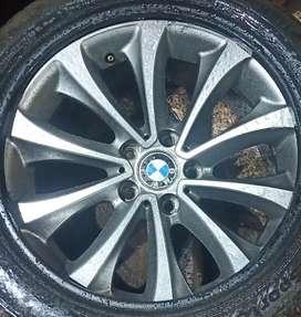 Original 18'' Bmw Alloy wheel Diamond Cut