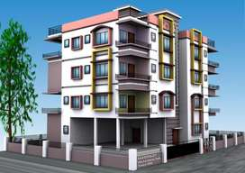 Flat for sale at Behala Near 18D Bus Stand.