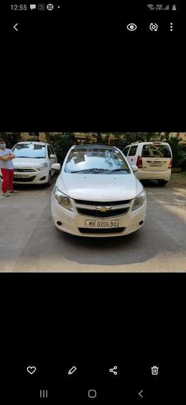 Chevrolet Sail 2013 Petrol Well Maintained