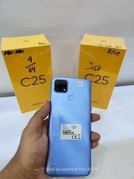 Realme C25 4/128 New Segel Free Kuota 31,5GB 040