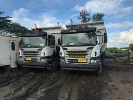 Dumk truk scania P380 th 2013