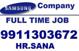 samsung full time job store keeper supervisor helper CALL Me Sana