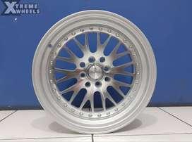 HSR Wheels Ready Velg R16 Keren Buat Nissan ( March )