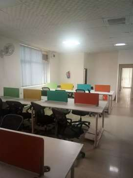 52 workstations 4 cabin conference reception etc 4 rent sec 63