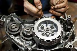 Bike repairing for all  number pr contact kro