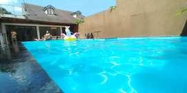 Sewa rumah villa harian bulanan tahunan kolam renang bandung