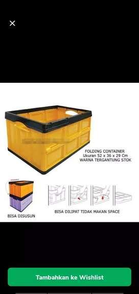 box container lipat / folding container plastik CLUB