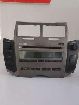 Head unit / tape toyota yaris 2012 orisinil