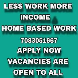 Open registration for work from. Home jobs providing offline date work