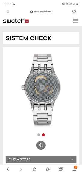 Swatch Sistem Check automatic watch