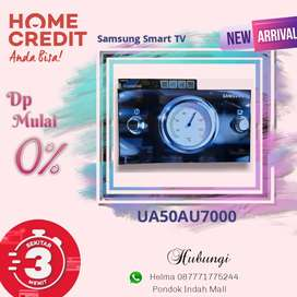 Samsung Smart TV UA50AU7000 Kredit Tanpa Kartu Kredit Proses Cepat
