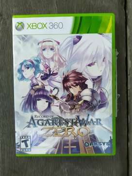 Xbox 360 DVD Original Record of Agarest War Zero Limited Edition