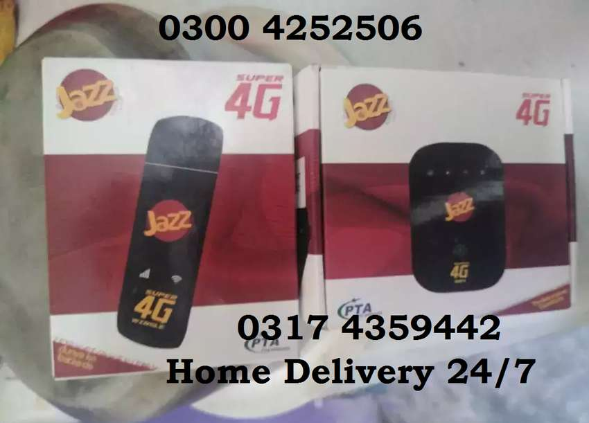Jazz internet device BEST INTERNET 4G LTE Services All Over Lahore 0