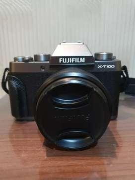 Fujifilm Mirrorless X-T100 Kit XC 15-45mm Dark Silver