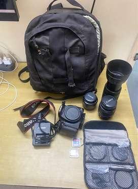 Canon EOS 500D complete Kit