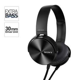Sony MDR-XB450 Extra Bass Wired Headphones