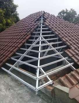 melayani pengerjaan atap baja ringan ANTI BOCOR