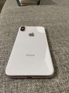 Iphone X 64 GB grey mint condition