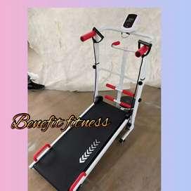 Treadmill manual id101M 5fungsi bisa cod