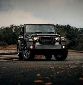 Mahindra Thar 2021 Diesel 0 Km Driven.black colour