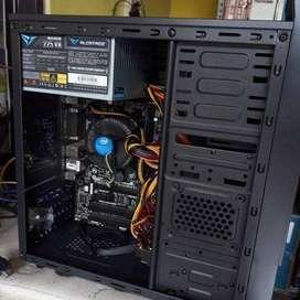 KOMPUTER INTEL i5 4460 4GB DDR3 HDD 500GB CASING AZURA NEW