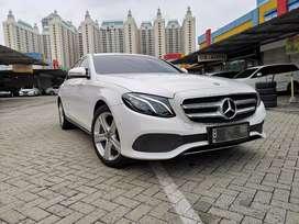 Mercedes Benz E250 Putih 2017 ANTIK