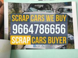 Vahs. Accidental old damaged rusted junked car scrap buyers