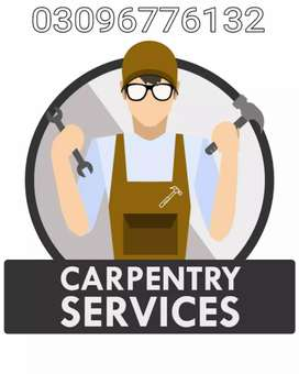 Carpenter for wooden work is available in Lahore