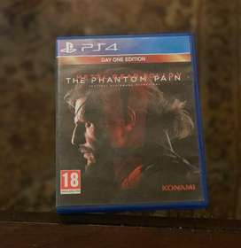 Metal Gear Solid V 5 Phantom Pain PS4 used for Sale & Exchange