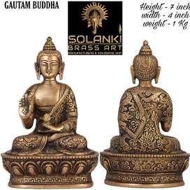 Brass Antique Buddha