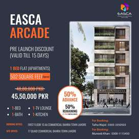 Book Your Dream Apartments At Easca Arcade Bahria Town Lahore