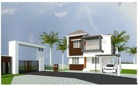 3Bhk Villas just Opp. PK Das Medical College  | 38.90 L
